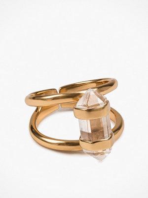 Cornelia Webb Crystalised Double Ring