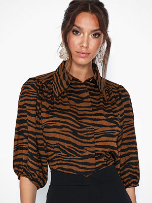 co'couture Java Tiger Puff Shirt