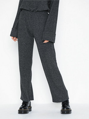Pieces mörkgrå byxor Pchermione Mw Pants
