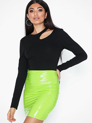 NLY One Patent Short Skirt