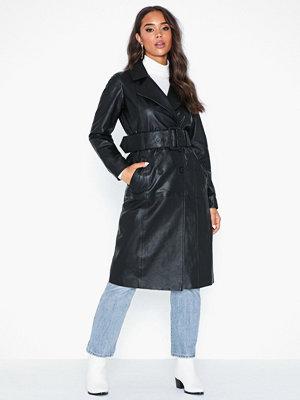 Y.a.s Yasfenda Leather Trench Coat