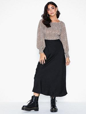 Kjolar - Pieces Pcnene Hw Midi Skirt D2D