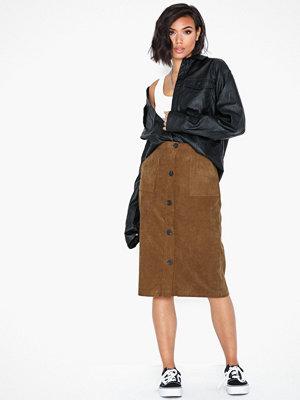 Vila Vijosy Button Hw Skirt