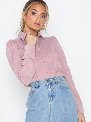 NLY Trend Puff Sleeve Corduroy Shirt