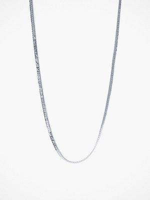 Syster P svart smycke Herringbone Choker Necklace