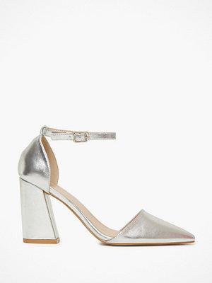 Glamorous Glamorous Metallic Block Heels