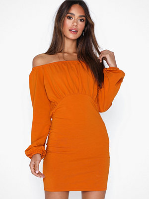 NLY Trend Off Shoulder Puffy Dress