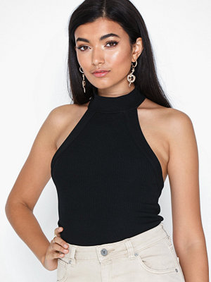 NLY Trend Back Focus Rib Top