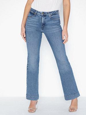Jeans - Wrangler Flare Blue Noise