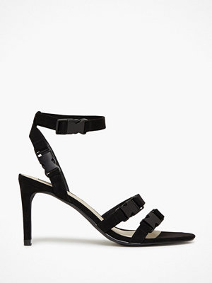 NLY Shoes Multi Buckle Strap Heel