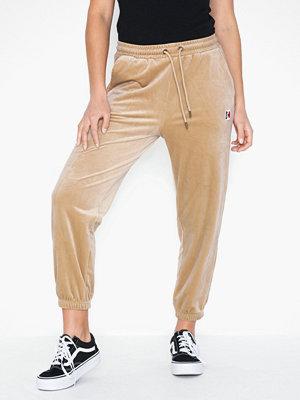 Karl Kani beige byxor KK Velvet Pants