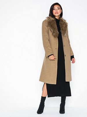 Ivyrevel Faux Fur Collar Coat