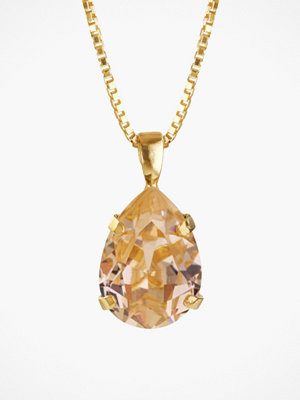 Caroline Svedbom halsband Mini Drop Necklace Light Peach