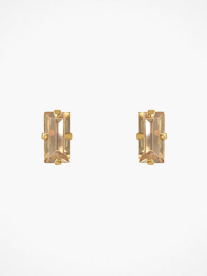 Caroline Svedbom örhängen Baguette Earrings Golden
