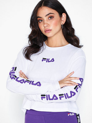 Toppar - Fila REVA long sleeve cropped shirt