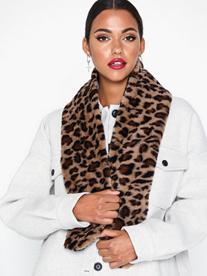 Halsdukar & scarves - NLY Accessories Faux Fur Collar