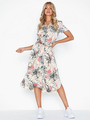 Vero Moda Vmiris Flower S/S Calf Dress Fx