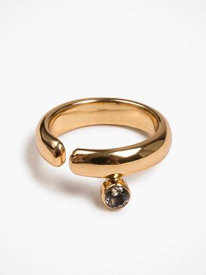 Cornelia Webb Crystalised Open Ring
