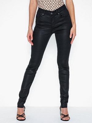 Jeans - Vero Moda Vmlux Nw Super Slim Coated Jeans No