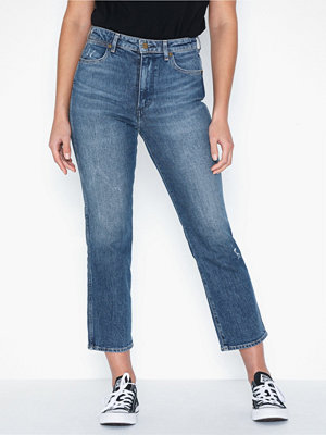 Jeans - Wrangler Retro Straight Dark Blue Noise