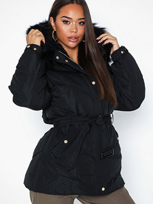 River Island Belted Puffer Coat