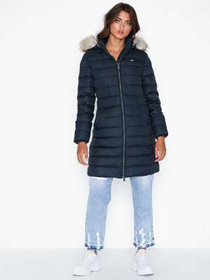 Tommy Jeans Tjw Essential Hooded Down Coat