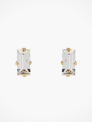 Caroline Svedbom örhängen Baguette Earrings Crystal