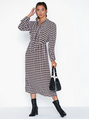 River Island Harriet Dogtooth Midi Dre