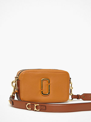 Marc Jacobs orange axelväska The Softshot 21 Acorn
