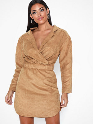 NLY One Relaxed Faux Sude Dress