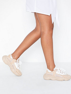 Missguided Faux Suede Chunky Sneaker