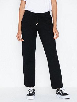 Vero Moda svarta byxor Vmlounge Nw Knit Trousers