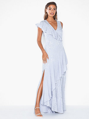 True Decadence Maxi Flounce Dress