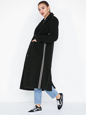 Pieces PCHELYN STRIPE COAT