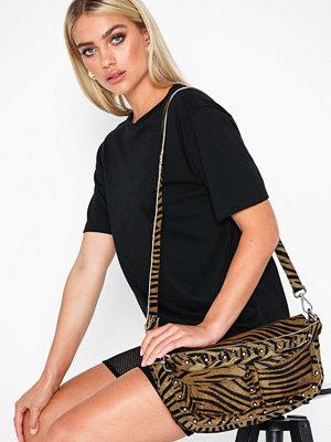 Unlimit mönstrad axelväska Shoulder Bag Emily Tiger