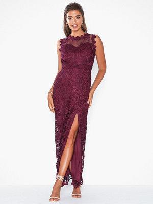 U Collection Sleeveless Slit Dress