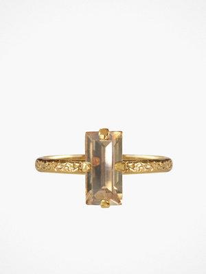 Caroline Svedbom Baguette Ring Golden
