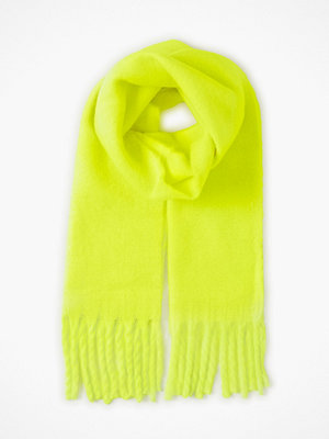 Halsdukar & scarves - Only Onlemma Solid Heavy Brush Yellow