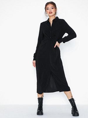 Vila Vilaia L/S Detail Shirt Dress-Fav N