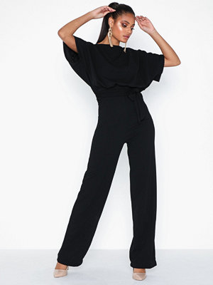 Ax Paris Short Sleeve Jumpsuit