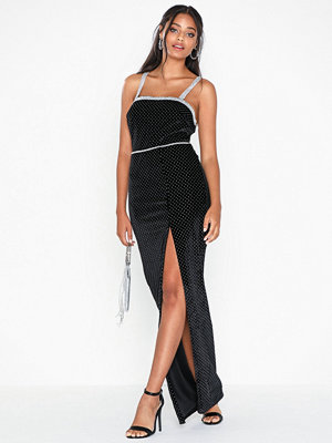 NLY Eve Sparkle Strap Gown