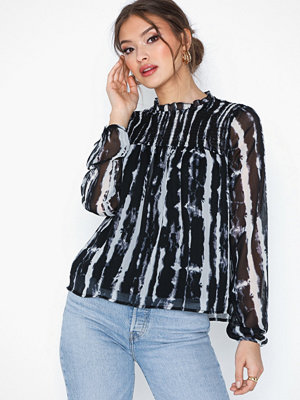 Only Onlriana L/S Smock Top Wvn