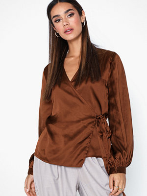 Object Collectors Item Objalina L/S Balloon Blouse Rep