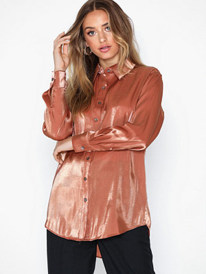 Skjortor - Glamorous Long Sleeve Buttoned Shirt