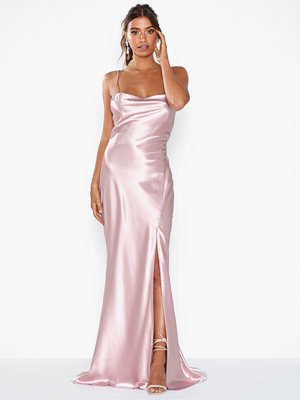 True Decadence Satin Maxi Dress