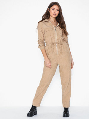 Jumpsuits & playsuits - Missguided Cord Drawstring Jumpsuit