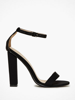 Glamorous Glamorous Barely There Block Heels