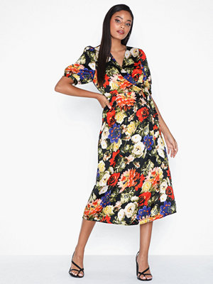 Vero Moda Vmlillian 2/4 Wrap Calf Dress Exp