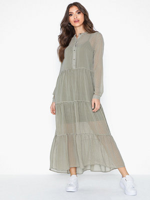 Only Onlclaudia L/S Maxi Dress Wvn