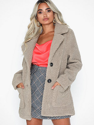 Only Onlfilippa Bonded Teddy Coat Otw